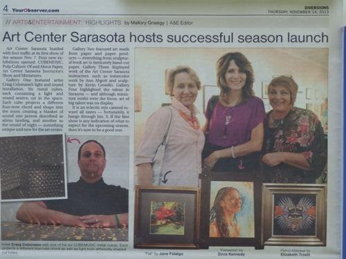 Minatures Show @ Art Center Sarasota