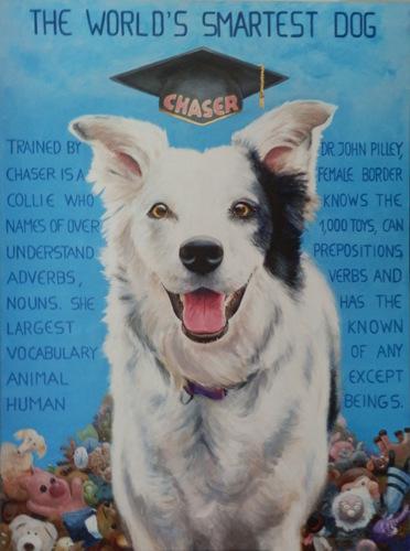 CHASER, the World's Smartest Dog
