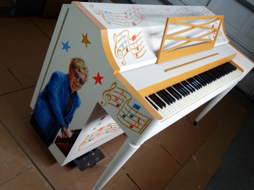 SUNCOAST VIEW Piano Commiission