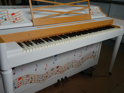 SUNCOAST VIEW Piano Commission