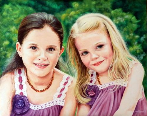 Commission Portrait of DALLENA & SAVA