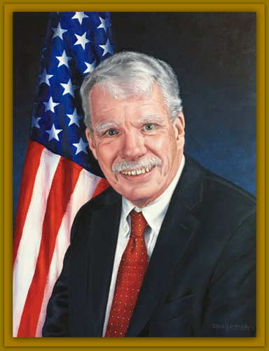 Commission Portrait of Kevin Kane, Esq -Chief State's Attorney of Connecticut