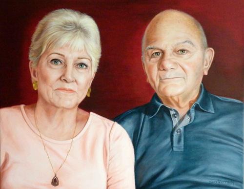 Commission Portrait of John & Gerry