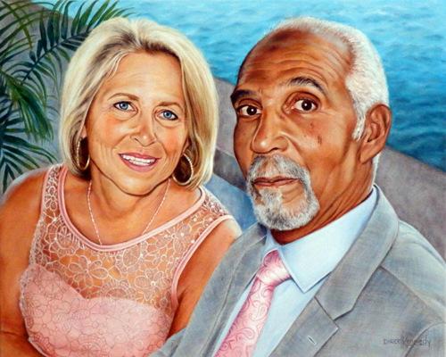 Commission Portrait of Rick & JoMarie