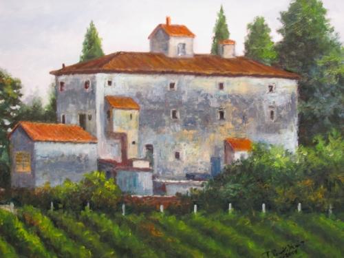 Tuscan Farmhouse I