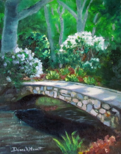 Crossing Chapel Creek by Diane K. Hewitt