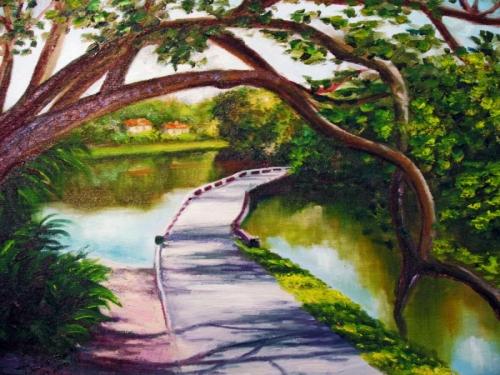 Bent Tree Lake