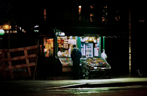 NEW YORK NEWSTAND, 3AM