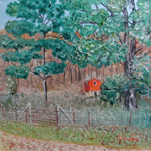 Autumn on Big Laurel No. 2 by DANNY LOWE, ARTIST