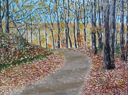 Autumn on Comers Creek by DANNY LOWE, ARTIST