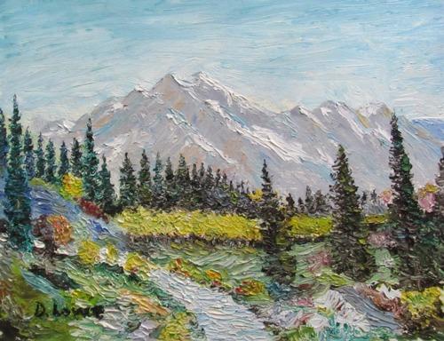 A Beautiful Alpine Scene