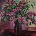 Lilacs at Window (thumbnail)