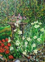 Garden Scene in August (thumbnail)