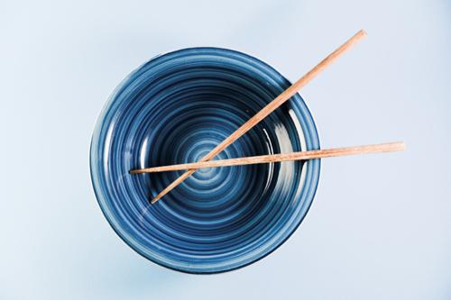 Bowl + Chopsticks (color)