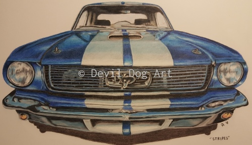 Stripes by Devil Dog Art