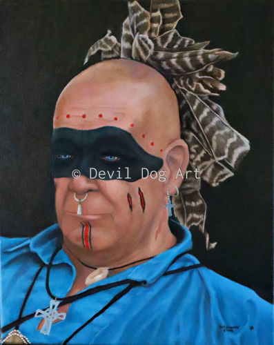 Stone by Devil Dog Art