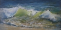 Painting--Pastels-Seascape2243 Breaking Light