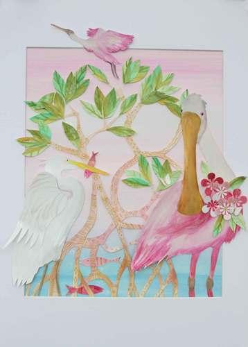 Study In Pink by Deborah Mores Art