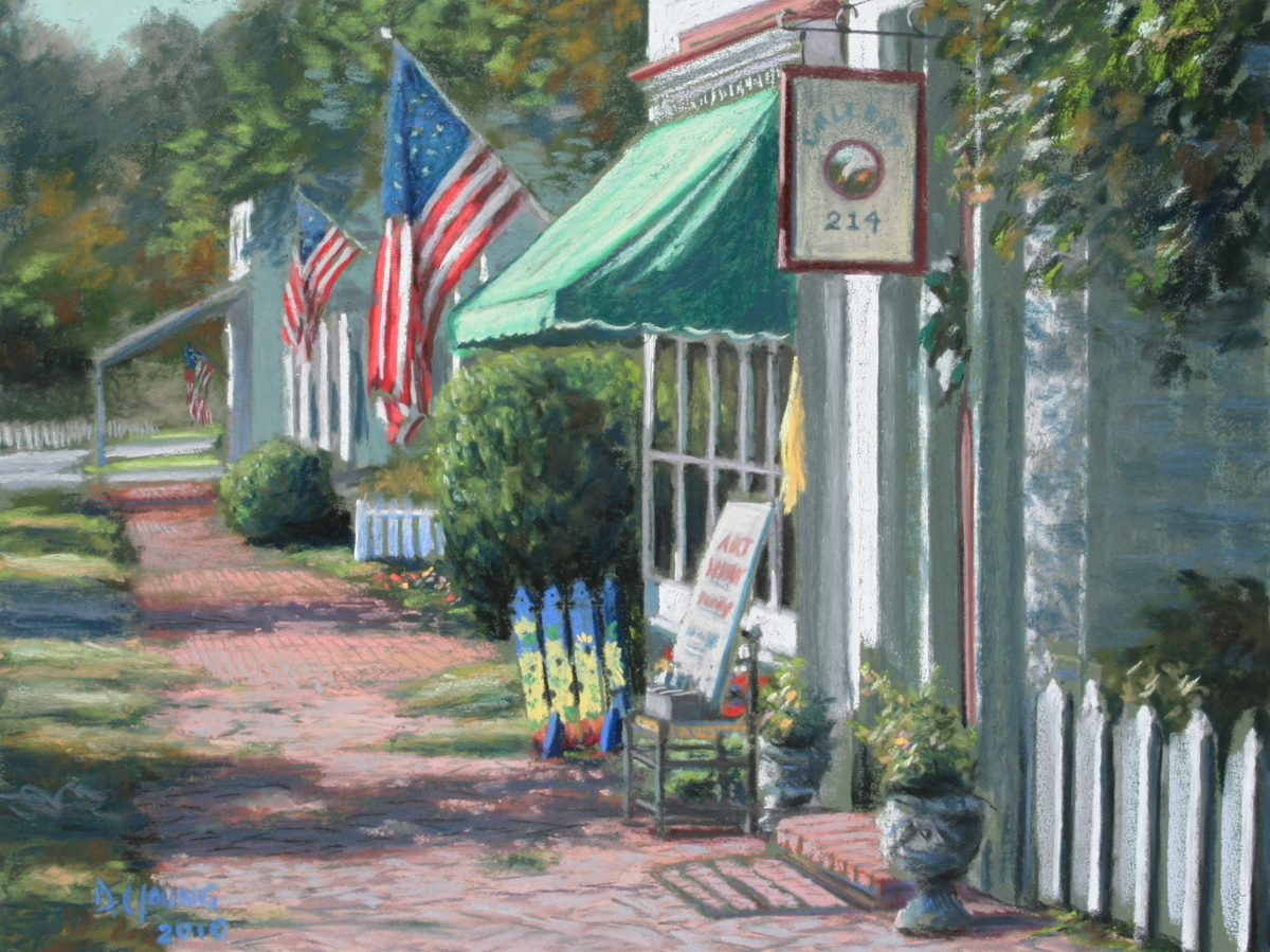 Art Show Today (Oxford, Maryland) (large view)