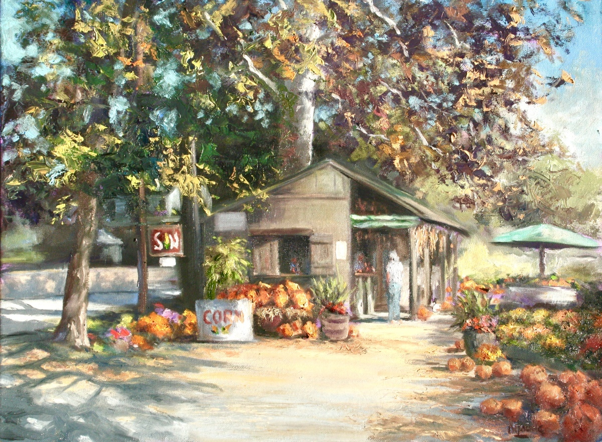 Autumnal Beauties at Haskell's Farmstand (large view)