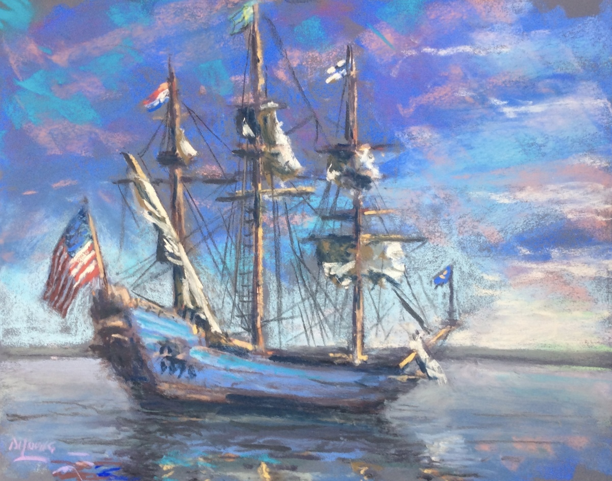 The Kalmar Nyckel (large view)