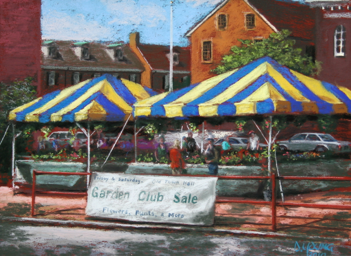May Market in Old New Castle (large view)