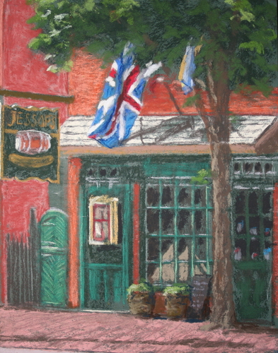Jessops Tavern Quick Sketch by Dennis Young