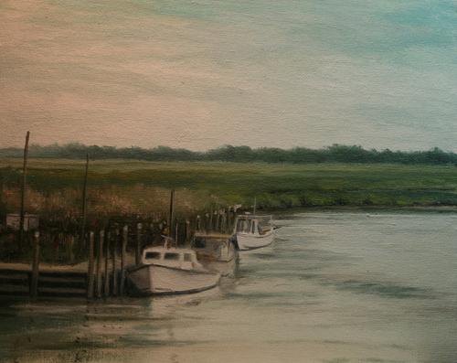 Workboats On The Smyrna River