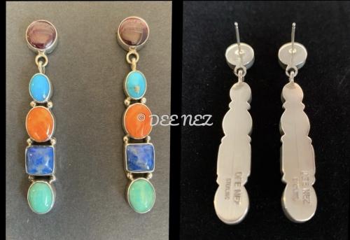 Earrings by Dee Nez