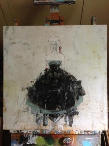 sketch black dress