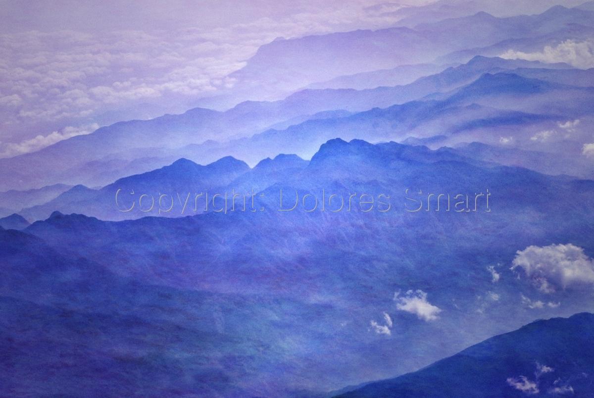 Sea Skies, Purple (large view)