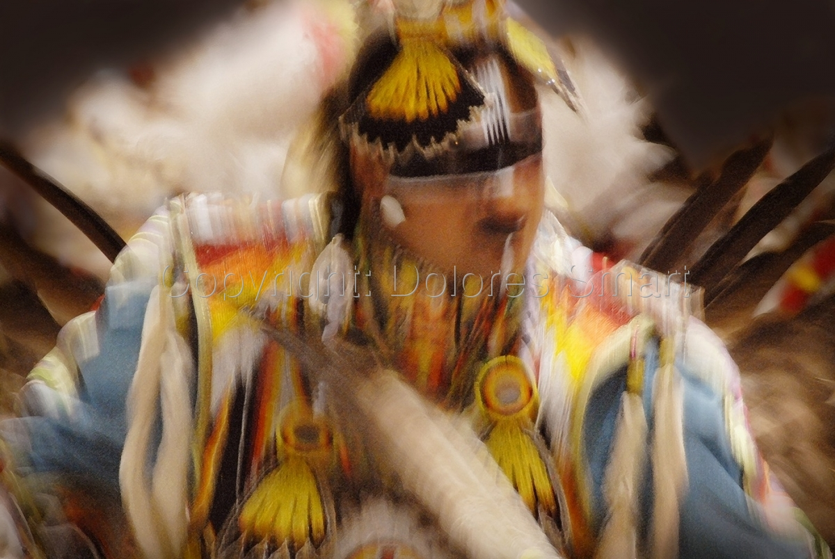 Dancer, Pow Wow (large view)