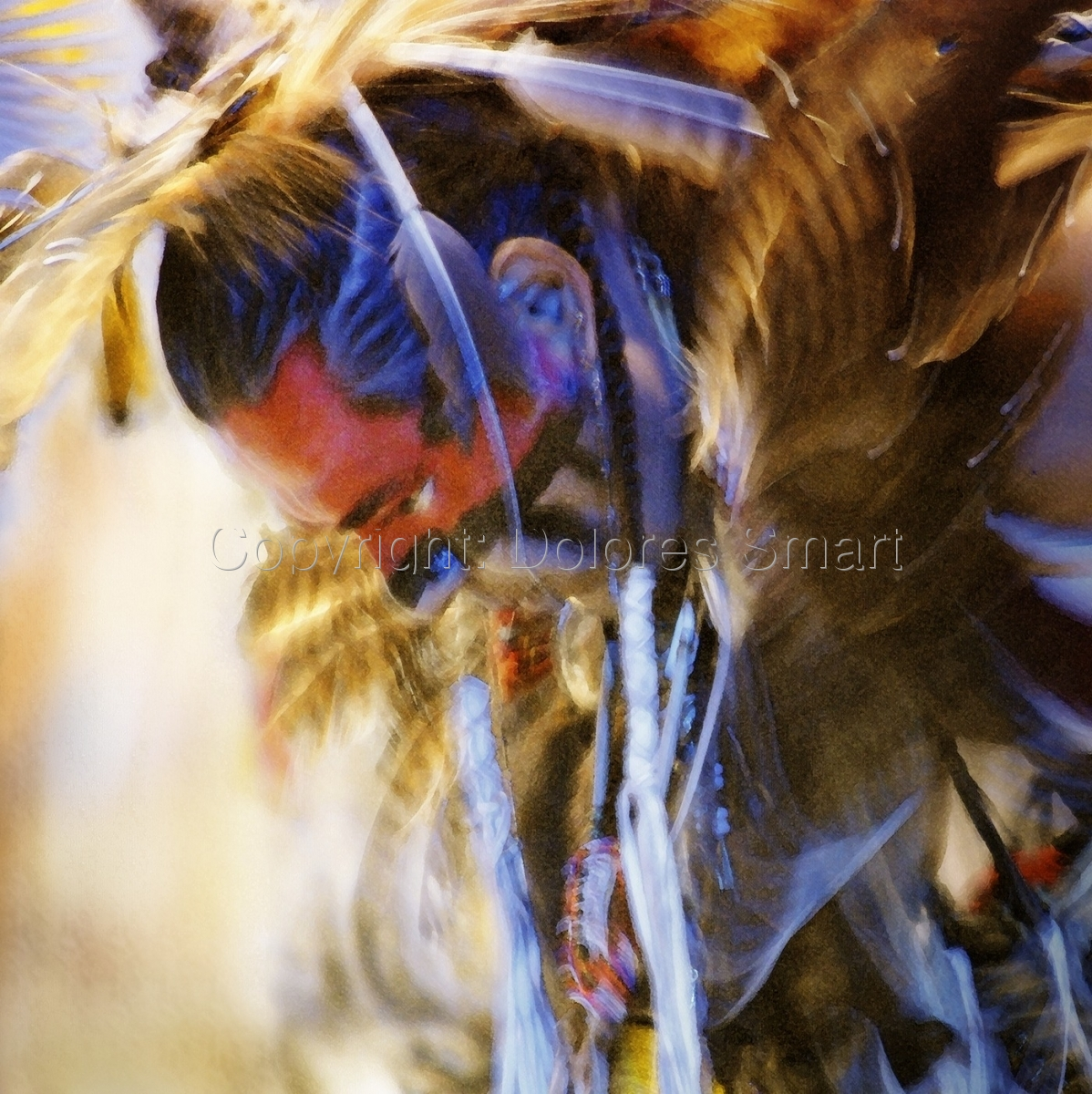 Dancer 2, Pow Wow (large view)