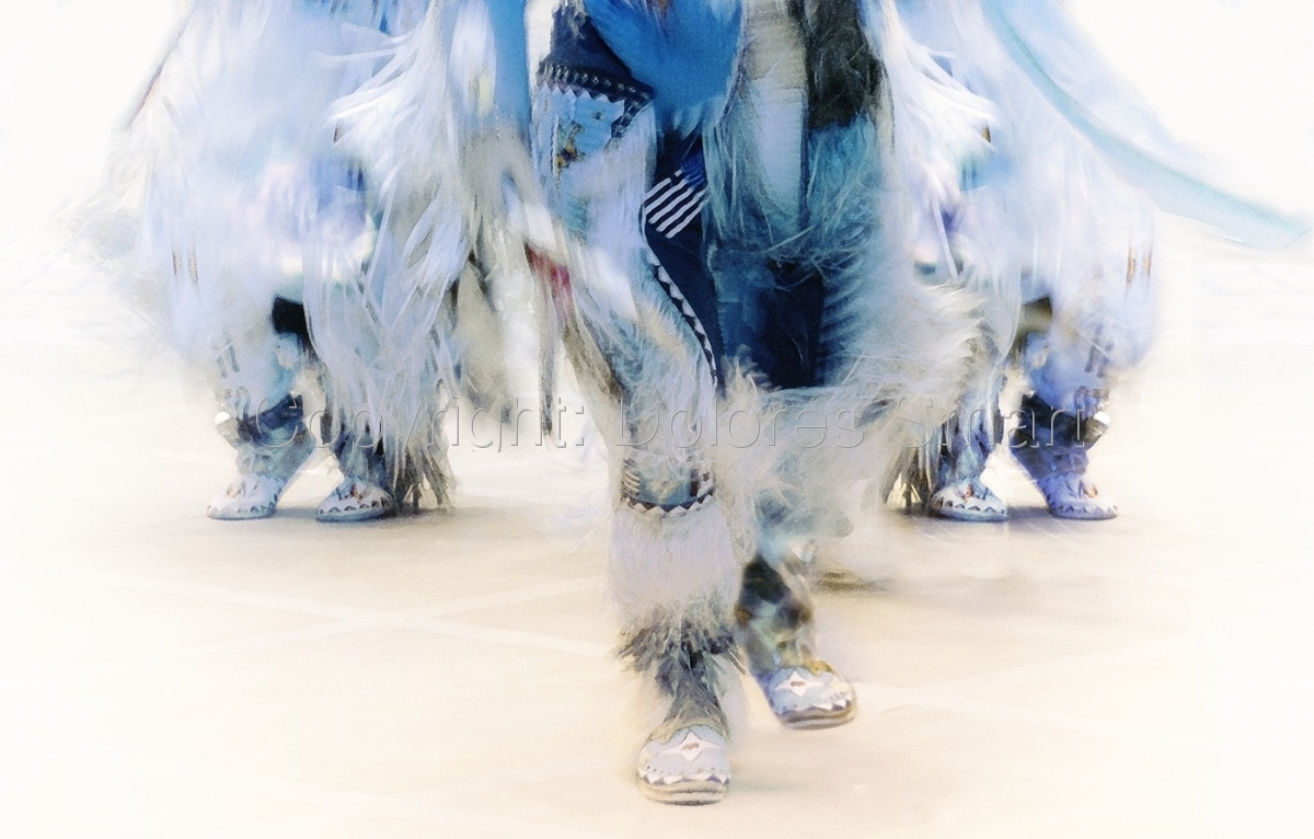 Group Dancers, Pow Wow (large view)