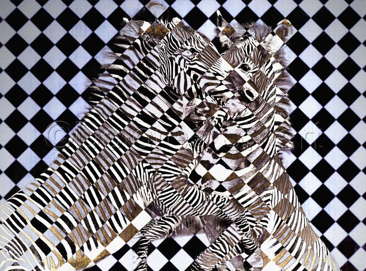 Cubist Zebras (large view)