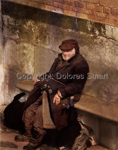 Old Man in Venice