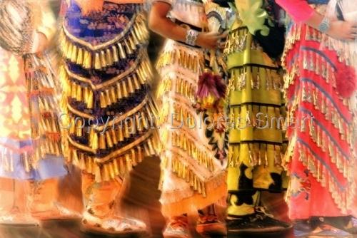 Bugle Dresses, Pow Wow