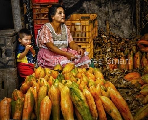 Market Day, Guatemala