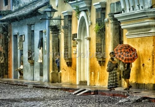 Rainy Day, Antiqua, Guatemala