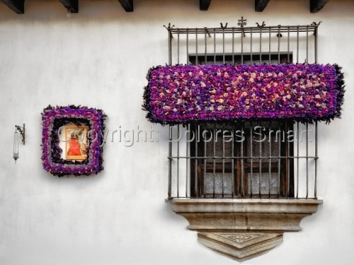 Window, Antiqua, Guatemala