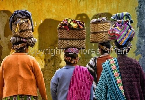 Women, Antiqua, Guatemala