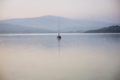 Sailboat, Bantry Bay, Ireland