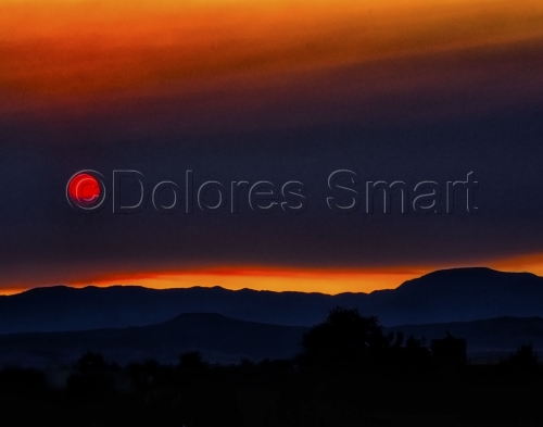 Sunset, Santa Fe, New Mexico