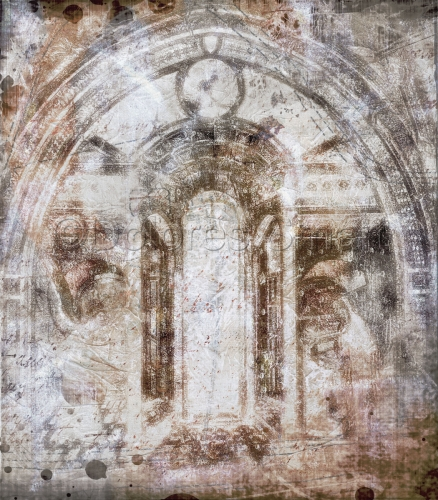 Fresco, St. Francis