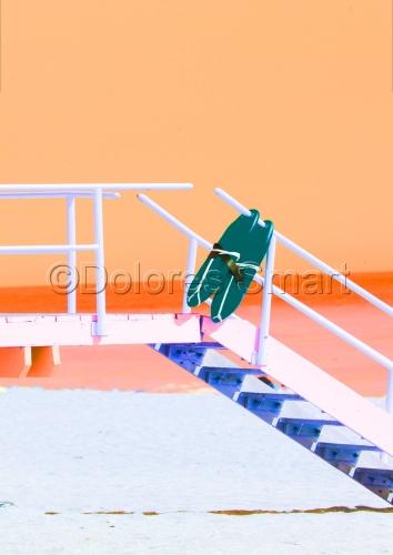 Miami Beach Still Life, Orange