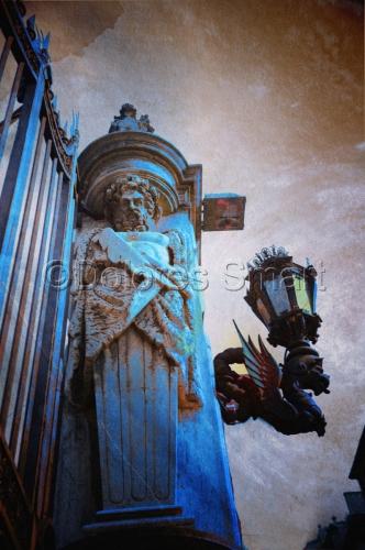 Blue Gate, Rome