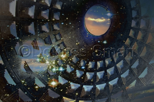 Pantheon With Stars