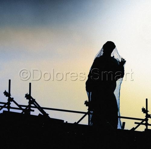 Solitary Net Statue, Vatican