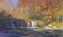 Printmaking--LandscapeFalls at Sycamore Mill