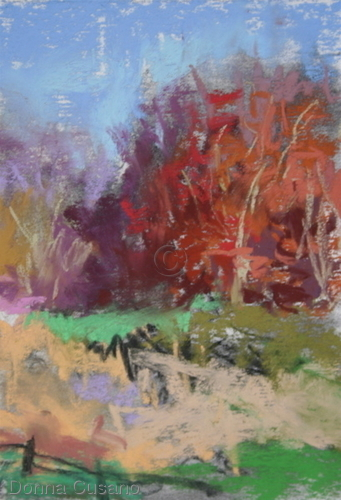 Painting--Pastels-LandscapeGranogue Rhythms 3